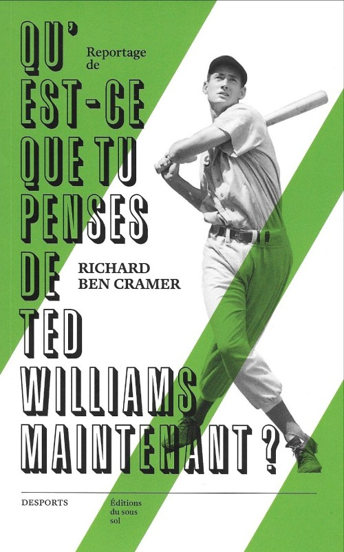 Qu'est-ce que tu penses de Ted Williams maintenant ?, 2015, couverture