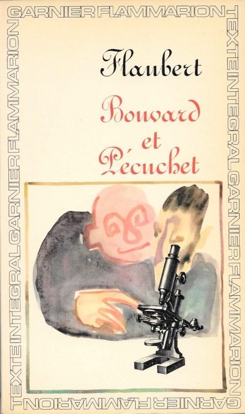 Gustave Flaubert, Bouvard et Pécuchet, 1966, couverture