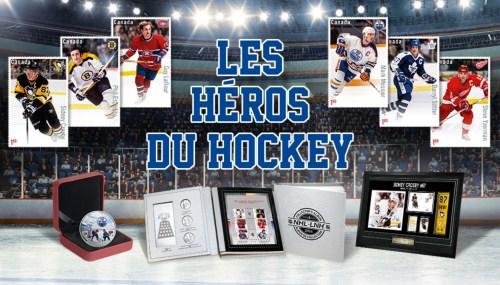Série de tombres-poste «Les héros du hockey», 2016