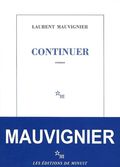 Laurent Mauvignier, Continuer, 2016, couverture