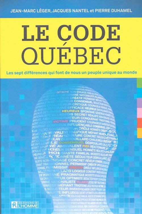 Le Code Québec, 2016, couverture
