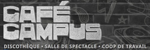 Café Campus, Montréal, logo