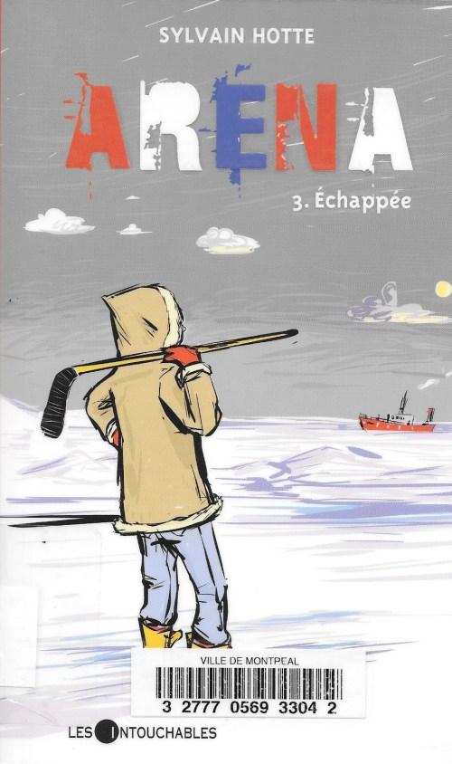 Sylvain Hotte, Échappée, 2010, couverture