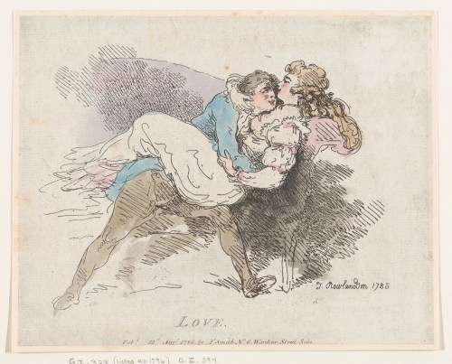 «Love», Thomas Rowlandson, 12 août 1785