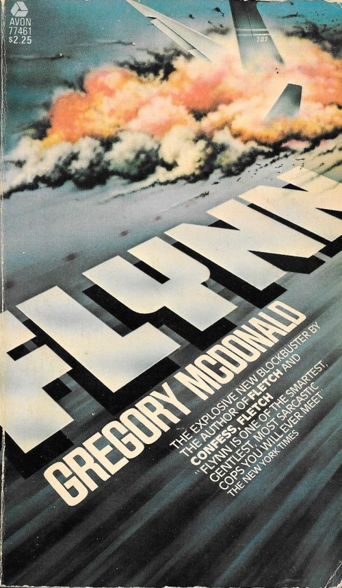 Gregory Mcdonald, Flynn, 1977, couverture