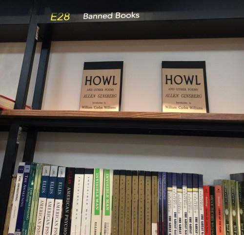 Dans une librairie de Los Angeles, section des «Banned Books», 19 mai 2017