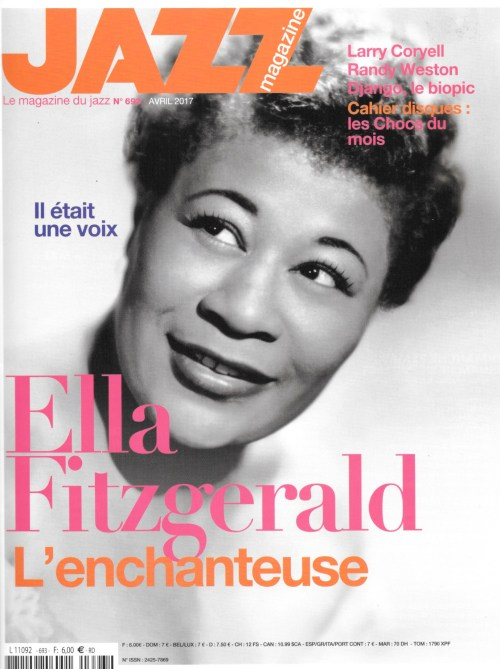 Jazz magazine, 693, avril 2017, couverture