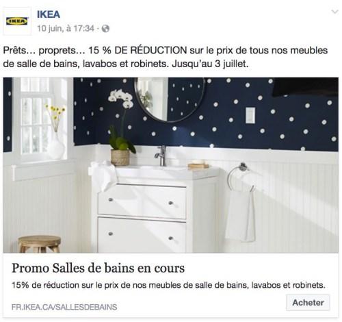 Ikea, publicité, juin 2017