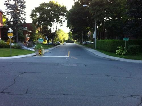 Avenue Willow, Westmount, avant