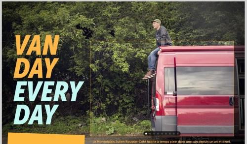 «Une van» (la Presse+, 29 juillet 2017)