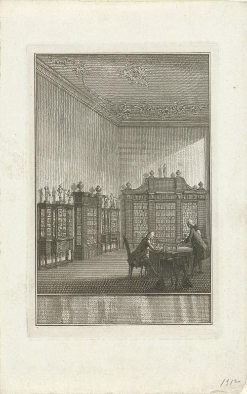 Cabinet de Bernard Siegfried Albinus (Rijksmuseum, Amsterdam)