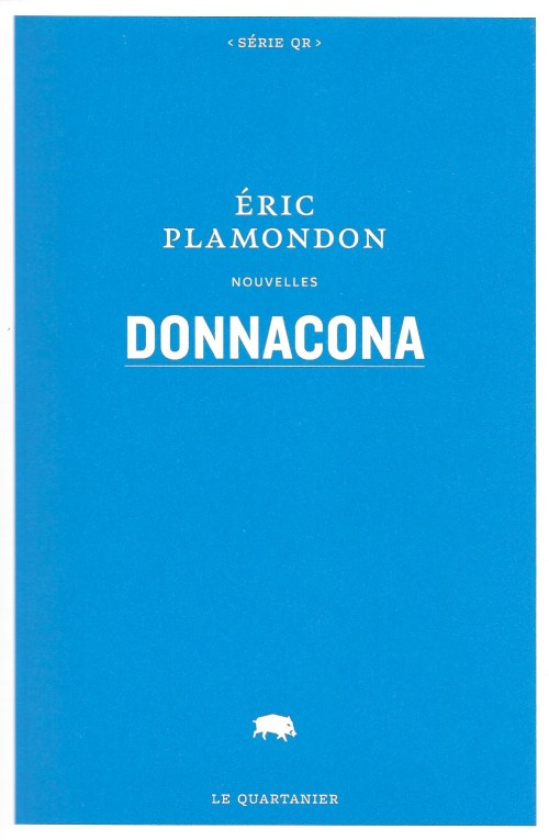Éric Plamondon, Donnacona, 2017, couverture