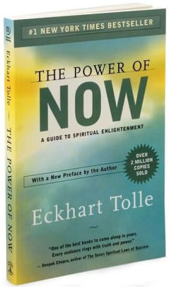 Eckhart Tolle, The Power of Now, couverture