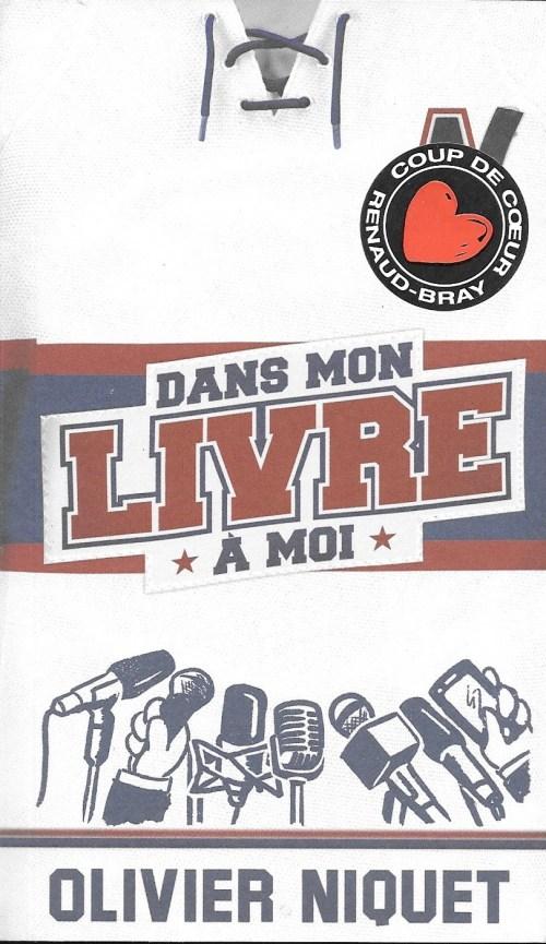 Olivier Niquet, Dans mon livre à moi, 2017, couverture