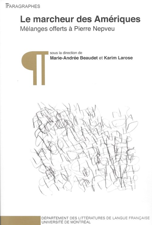 Collection «Paragraphes», 29, 2010, couverture