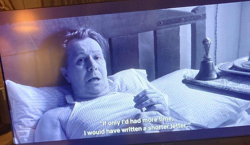 Scène de Mank, film de David Fincher, 2020