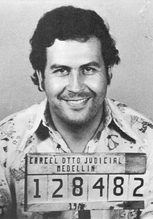 Portrait de Pablo Escobar, 1977