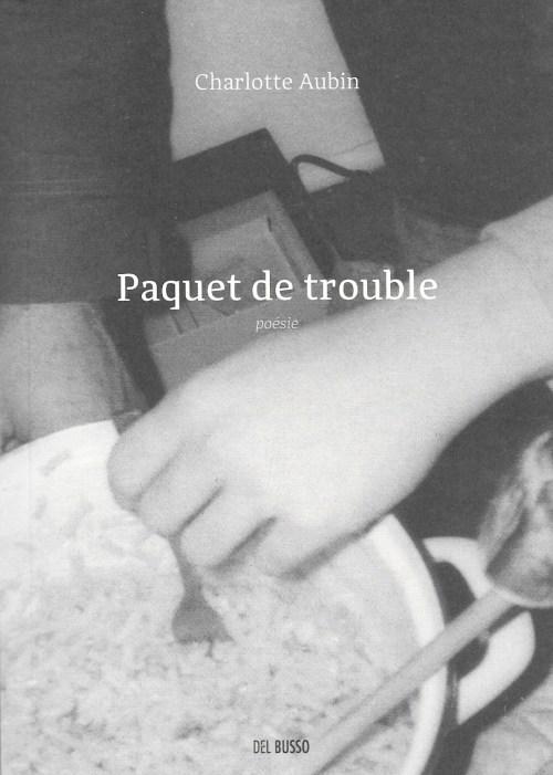 Charlotte Aubin, Paquet de trouble, 2018, couverture