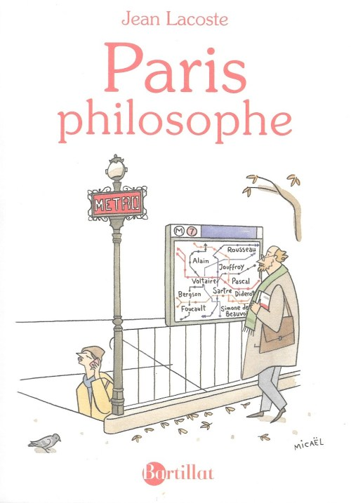 Jean Lacoste, Paris philosophe, 2018, couverture