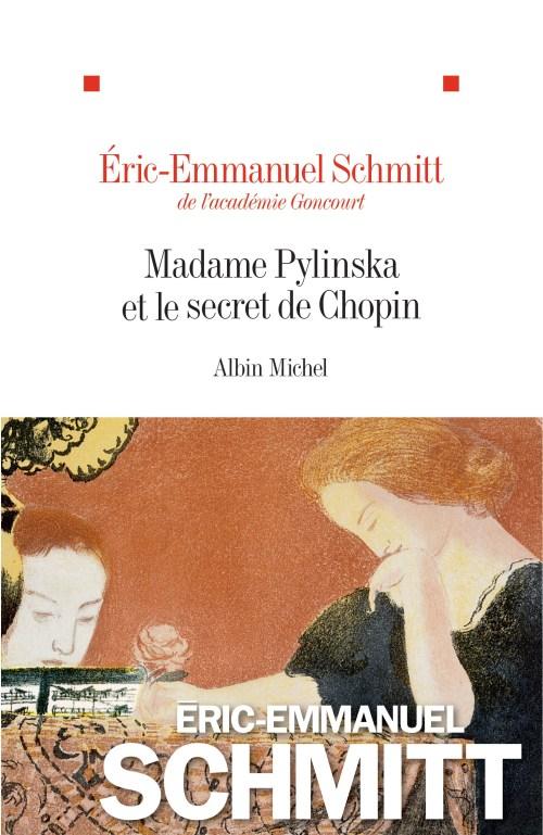 Éric-Emmanuel Schmitt, Madame Pylinska et le secret de Chopin, 2018, couverture