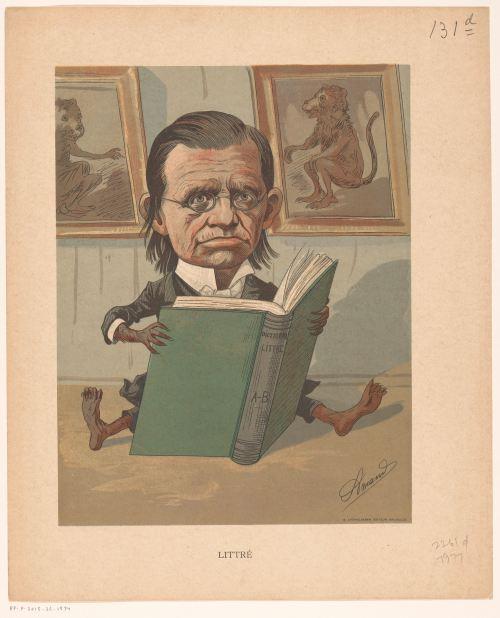 Portrait d'Émile Littré par Armand Vaché, c. 1875 - c. 1900