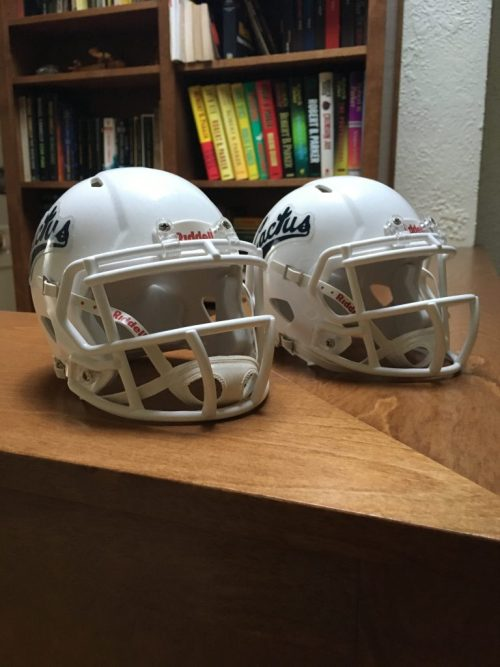 Casques de football miniatures