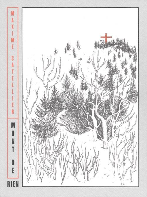 Maxime Catellier, Mont de rien, 2018, couverture