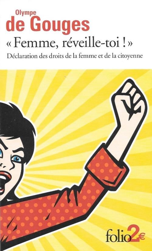 Olympe de Gouges, «Femme, réveille-toi !», 2014, couverture