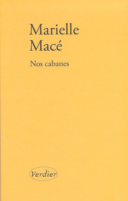 Mireille Macé, Nos cabanes, 2019, couverture