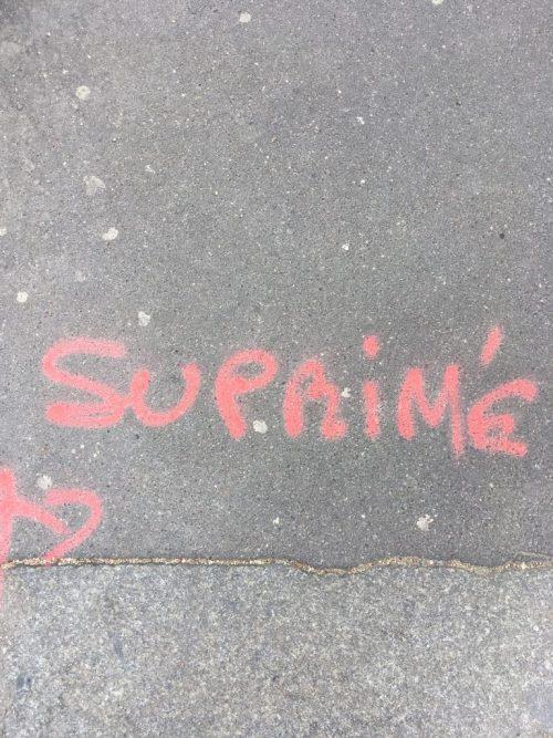«Suprimé» pour «Supprimé», Paris, avril 2019