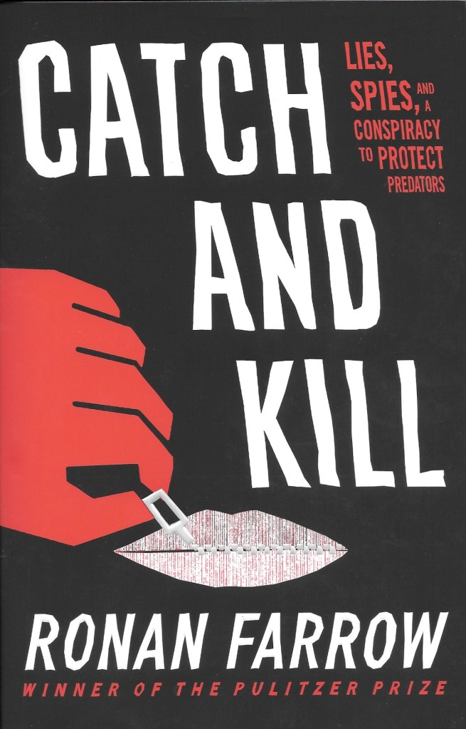 Ronan Farrow, Catch and Kill, 2019, couverture