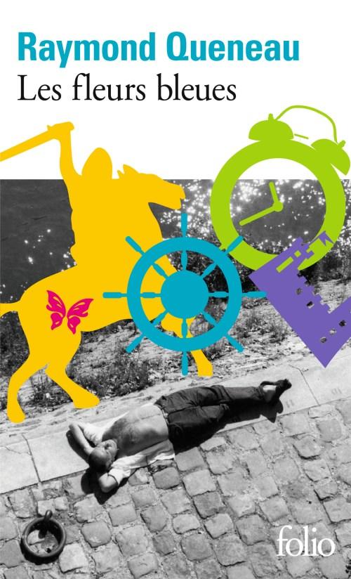 Raymond Queneau, les Fleurs bleues, éd. de 1965, couverture