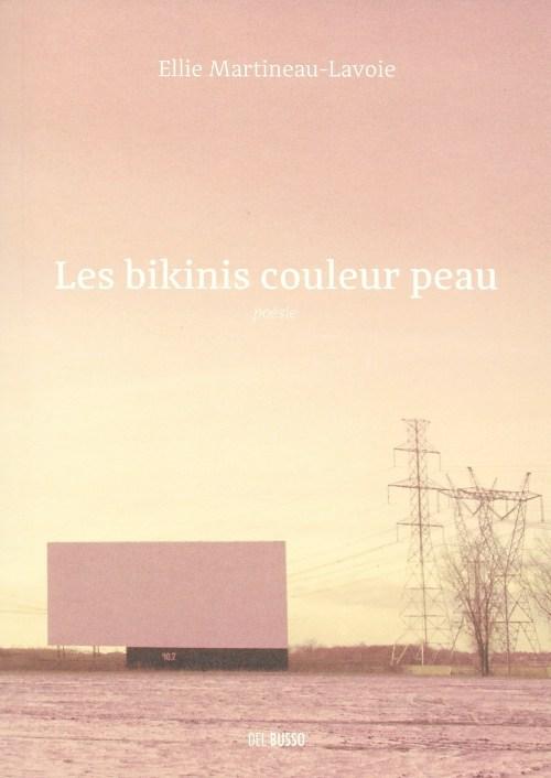 Ellie Martineau-Lavoie, les Bikinis couleur peau, 2018, couverture