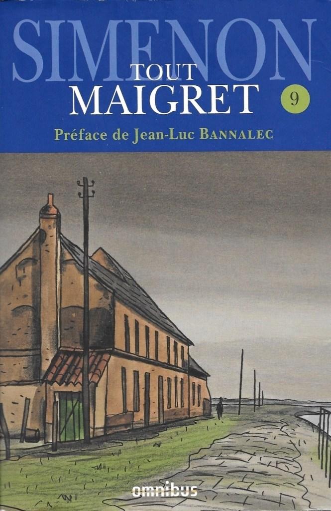 Simenon, Tout Maigret, volume 9, 2019, couverture