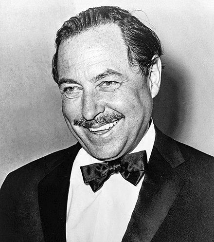 Portrait de Tennessee Williams à 54 ans, Wikipédia