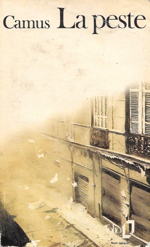 Albert Camus, la Peste, édition de 1972, couverture