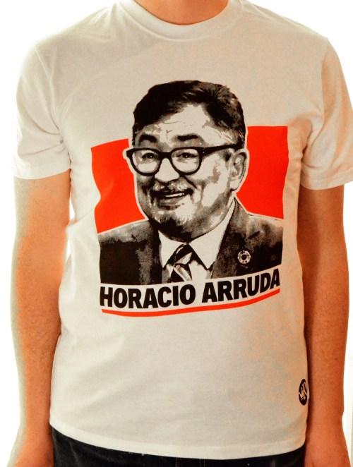 T-shirt d'Horacio Arruda, Mercerie Roger, Montréal, 2020