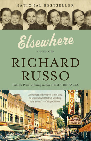 Richard Russo, Elsewhere, 2012, couverture