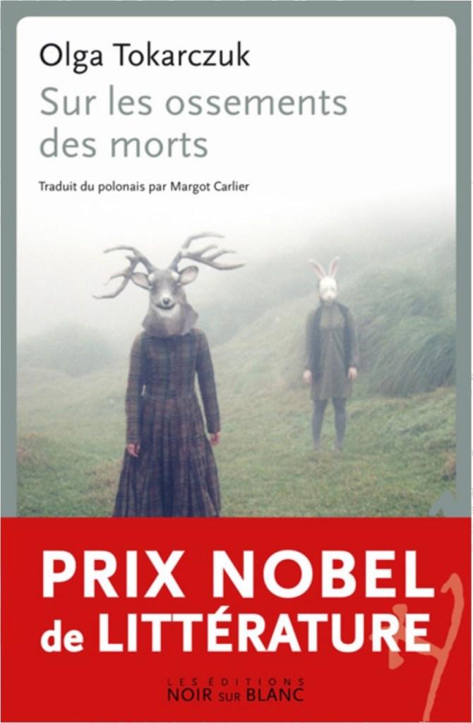Olga Tokarczuk, Sur les ossements des morts, 2012, couverture