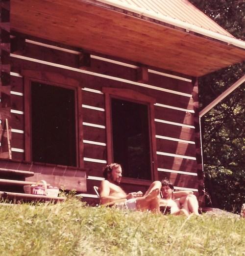 Laurent Mailhot et Benoît Melançon, La Miverve (Québec), juillet 1981