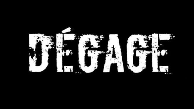 «Dégage !», slogan politique