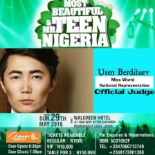 MOST BEAUTIFUL TEEN and MR TEEN NIGERIA
