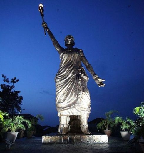 Moremi Statue of Liberty 3rd Tallest in Africa