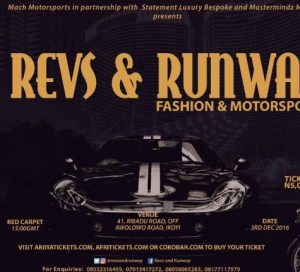 First Fashion And Motorsports Show In Nigeria Revs and Runway