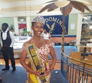 Queen Sabina Awuni Crowned Miss Ghana UK 2017.