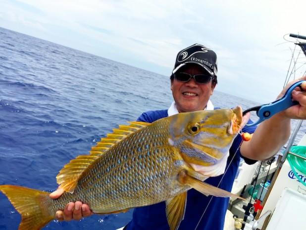 沖縄遠征2015 釣行最終日は善海丸から出撃!