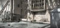 "3D environment concept art ""Back_Entrance"" - orenob"