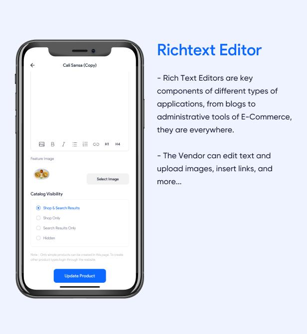 Richtext Editor
