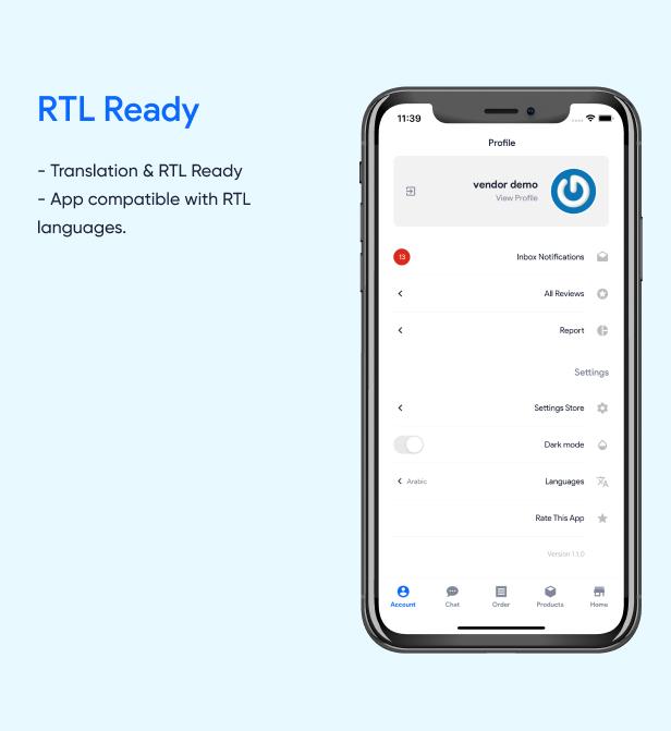 RTL Ready