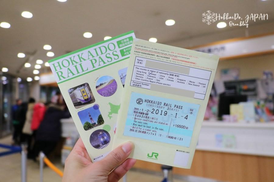 北海道鐵路周遊券JR PASS 使用範圍、札幌站換票地點&兌換流程
